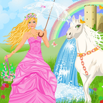 Princess And Her Magic Horse icon