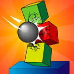 BrickDown 3D Physics icon