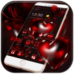 Red Rose Bleeding Heart Theme icon
