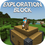 Exploration Block : Zombie Craft icon