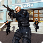 NY Police Battle Bank Robbery Gangster Squad icon