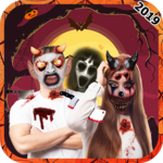 Scary Halloween Makeup : Mask 🎃 Makeup Free 2018 icon